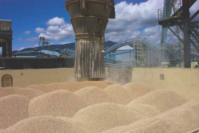 Pellets Shipment in Canada. Canadian biomass